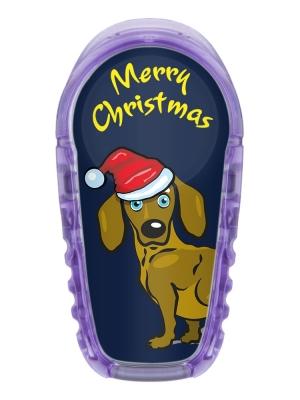2x Christmas Dackel