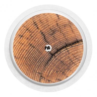 2x Wood Rustic