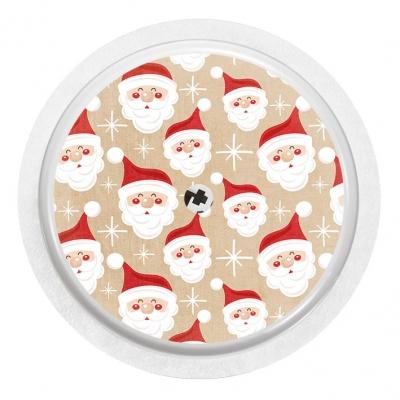 2x Funny Santa Claus