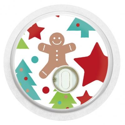 2x Gingerbread Man